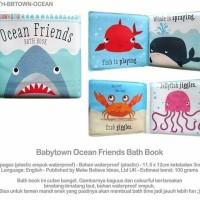 Buku bayi (bath book dan cloth book) nama hewan