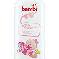 Bedak tabur Bambi baby powder milky powdery 250 g