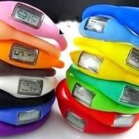 Sale!!! Jam Tangan Led Digital Sporty Silikon Murah Warna Warni