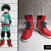 Sepatu Cosplay Boku no Hero Academia Deku