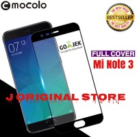 Mocolo Tempered Glass Xiaomi Mi Note 3 MiNote 3 Full Curved