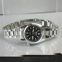 jam tangan daydate seiko wanita / jtr 1055 hitam