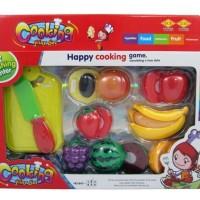 Mainan Edukasi Anak - Cooking Play Set Buah Potong Fruit Cutti PROMO