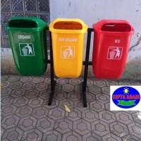 Harga Tempat Sampah Fiberglass Organik Non Organik Dan B3