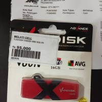 Plashdisk Flashdisk Vandisk advan OTG 16gb garansi lifetime advan indo