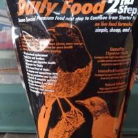 ams american selection gold 35 daily food 2nd step pakan murai kasar