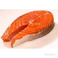Frozen Tasmanian Salmon Fish Steak Cut 250gr