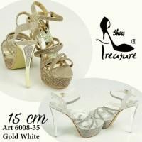 High heels Import gladiator pump pantofel ankle boots sepatu pesta