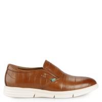 Sepatu Kickers Slip On Leather 2322 Original - Tan