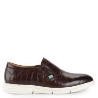 Sepatu Kickers Slip On Leather 2322 Original - Coffee