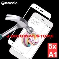 Mocolo Tempered Glass Xiaomi Mi5x Mi 5x MiA1 Mi A1 Full Curved
