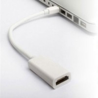 Display Mini Port tO hdmi Mini DP to HDMI Adapter For MacBook Pro Air