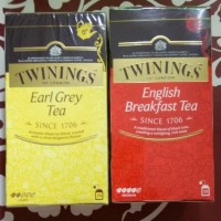 Teh TWININGS (Earl Grey Tea /English Breakfast Tea)
