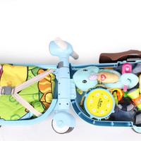 BP045 Koper Anak Bentuk Scooter Ekonomis Luggage Trolley Tas Troli Ana
