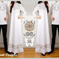 COUPLE ELEGANT WHITE/couple bordir/couple batik/copule Limited