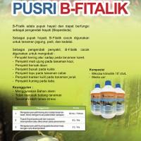 Pupuk Cair Organik pusri B-Fitalik Berat 1 Liter