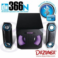 Speaker Aktif Bluetooth Dazumba DW366N with 7 LAMPU LED