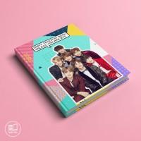 Buku Custom BTS korean Kpop tulis catatan agenda planner kampus OPPA