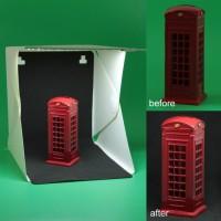 Mini Photo Studio Box Lampu Led Light Room