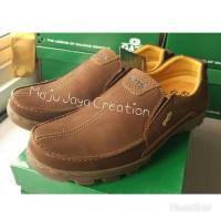 Sepatu GATS Kulit Casual Pria Keren Original Murah To 2203 Brown