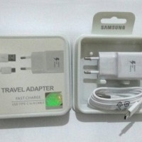 CHARGER SAMSUNG GALAXY A3 A5 A7 2017 FAST CHARGING ORIGINAL USB TIPE C