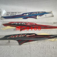 Stripping Striping Sticker Stiker Lis Mio Sporty 2005