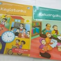 """Buku Tematik 1 SD """" Tema 3 & 4 """" Revisi 2017"""