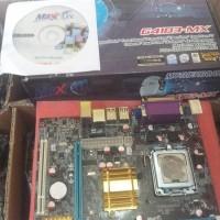 Motherboard Maxx ON g41 LGA 775 Bukan Asus Bukan MSI Bukan Gigabyte