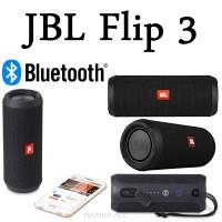 JBL Flip 3 Portable Bluetooth Speaker original new segel Black PT ims