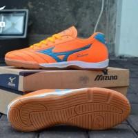 sepatu futsal mizuno fortuna orange premium sz 39-44
