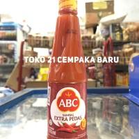 ABC Sambal Extra Pedas Botol 275ml | Saus Saos Ekstra Cabe 275 ml