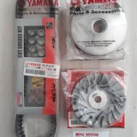 Vanbelt Kit Rumah Kipas rumah Roller Xeon Xeon RC 44D Asli Yamaha