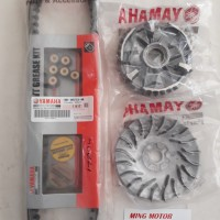 Vanbelt kit Rumah Kipas roller Mio 5TL Asli Yamaha