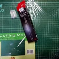 Cutting Mat A3 + pen cutter SDI paket murah meriah