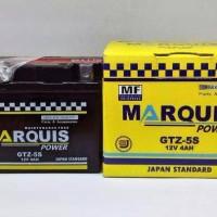 Aki Marquis GTZ-5S 12V4Ah Karisma/Supra X 125/Absolute Revo/Blade/125