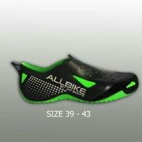 AKsesoris Motor O2 Sepatu Motor Biker AIR ALL BIKE GREEN Karet pvc AL