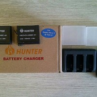 charger go pro hero 3/4 + batt go pro hero 4 Berkualitas