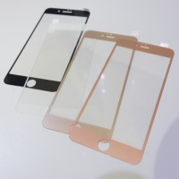 Tempered Glass Metalic Front Only For Iphone 6 6S 6+ 6S+ 7 7+ 8 8+