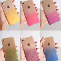 Anti Crack Jelly Ombre Case Iphone 6+ 6S+ 7 8