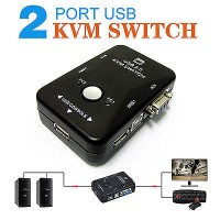 KVM Switch USB 2port