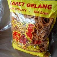 Karet Gelang Ayam Jago | Karet Murah 500 gram