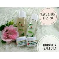 Paket theraskin whitening oily isi 4