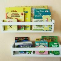 Set 2 Rak Buku Anak - Rak Organisasi - Dekorasi Rumah / Ruang Bermain