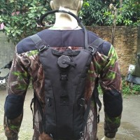 waterbag import / camel bag / hydration backpack / tas air BLACK