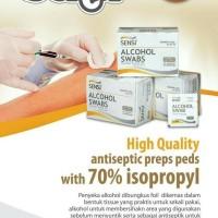 Tissue Alkohol / Alcohol Swabs Sensi