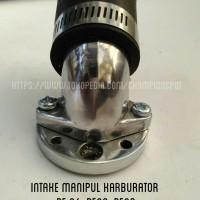 Manipul Intake Miring Karburator Motor / Intake Karbu Pe 24 Pe26 Pe 28
