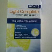 Garnier Night Light Complete white Speed Yoghurt Sleeping mask 20ml
