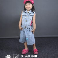 CDF121,Setelan/Dress/Celana Jeans Tanktop Casual Anak Perempuan/Cewek