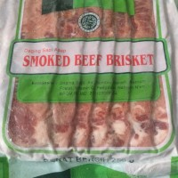 AROMA beef bacon (smoked beef brisket) 250 gr