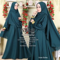 Gamis syari set lyra virna collection 6